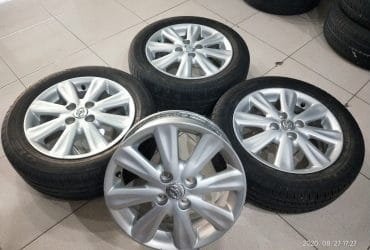 Velg copotan yaris p8 ring15 ban bonus 3pc