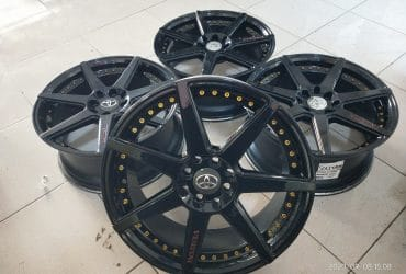 Vwlg second murah model vertini ring17x7,5 pcd8x100-114,3 et45 black