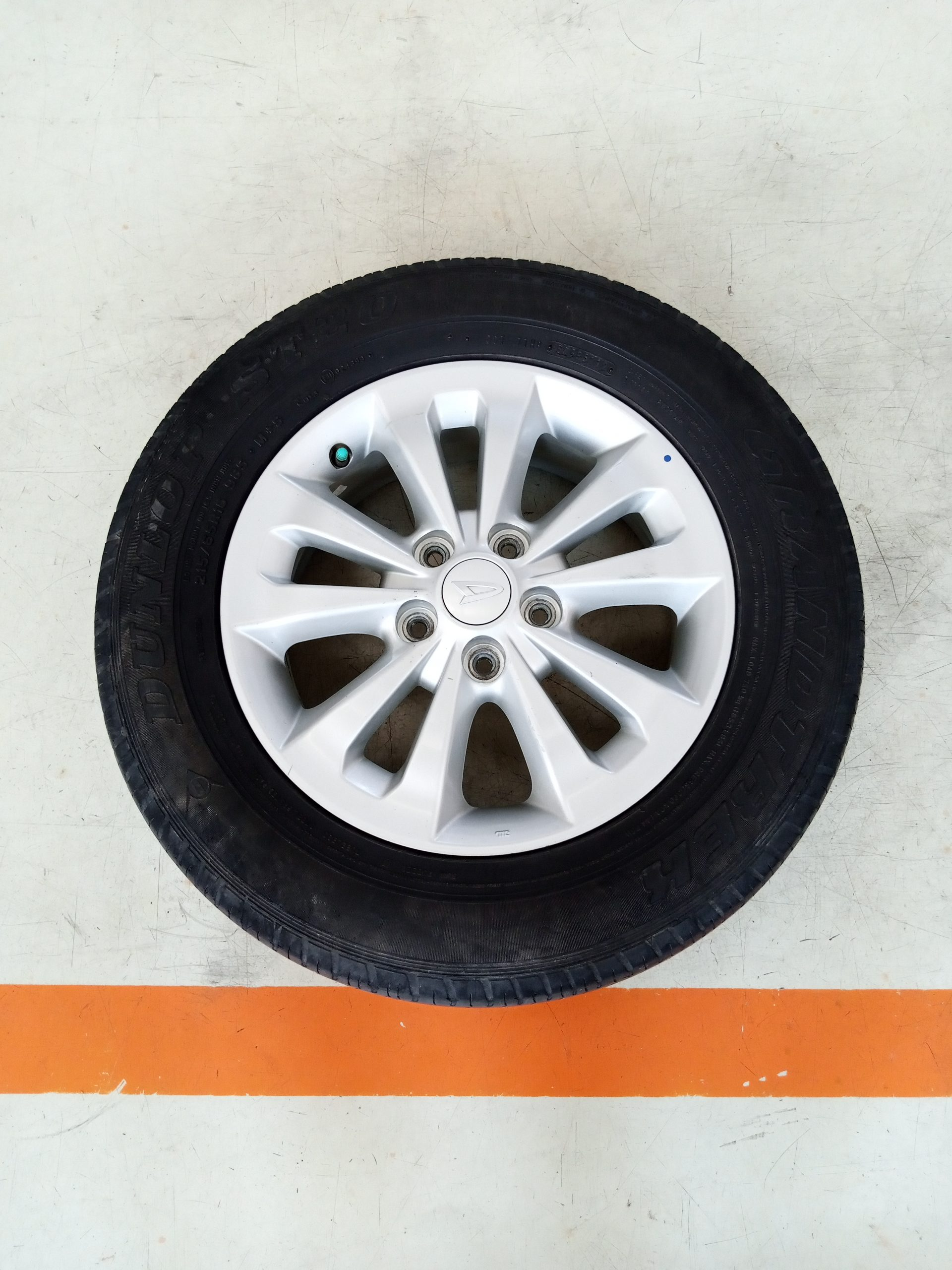 Velg Bekas Oem Daihatsu Terios Ring 16 + Ban Dunlop 215/65/R16