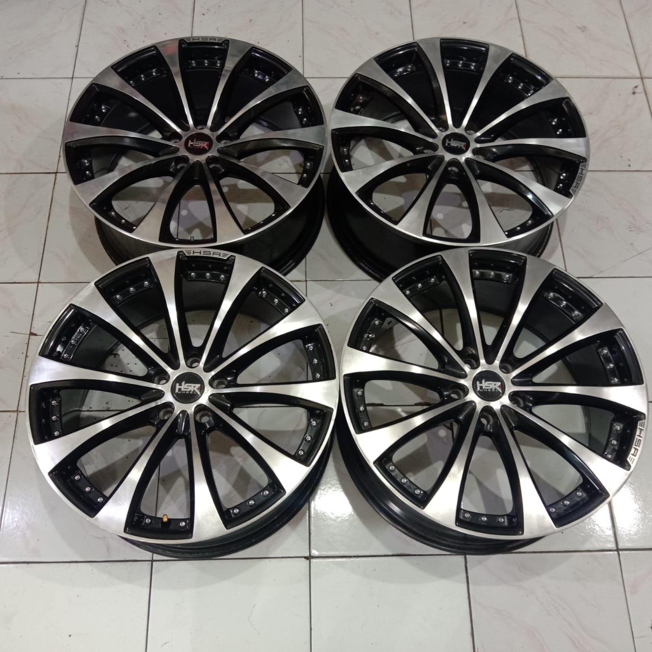 Velg Second Hsr MONACO R20X85 H5X114,3 ET45 Bisa untuk Mobil Crv Civic Innova Xpander Dll
