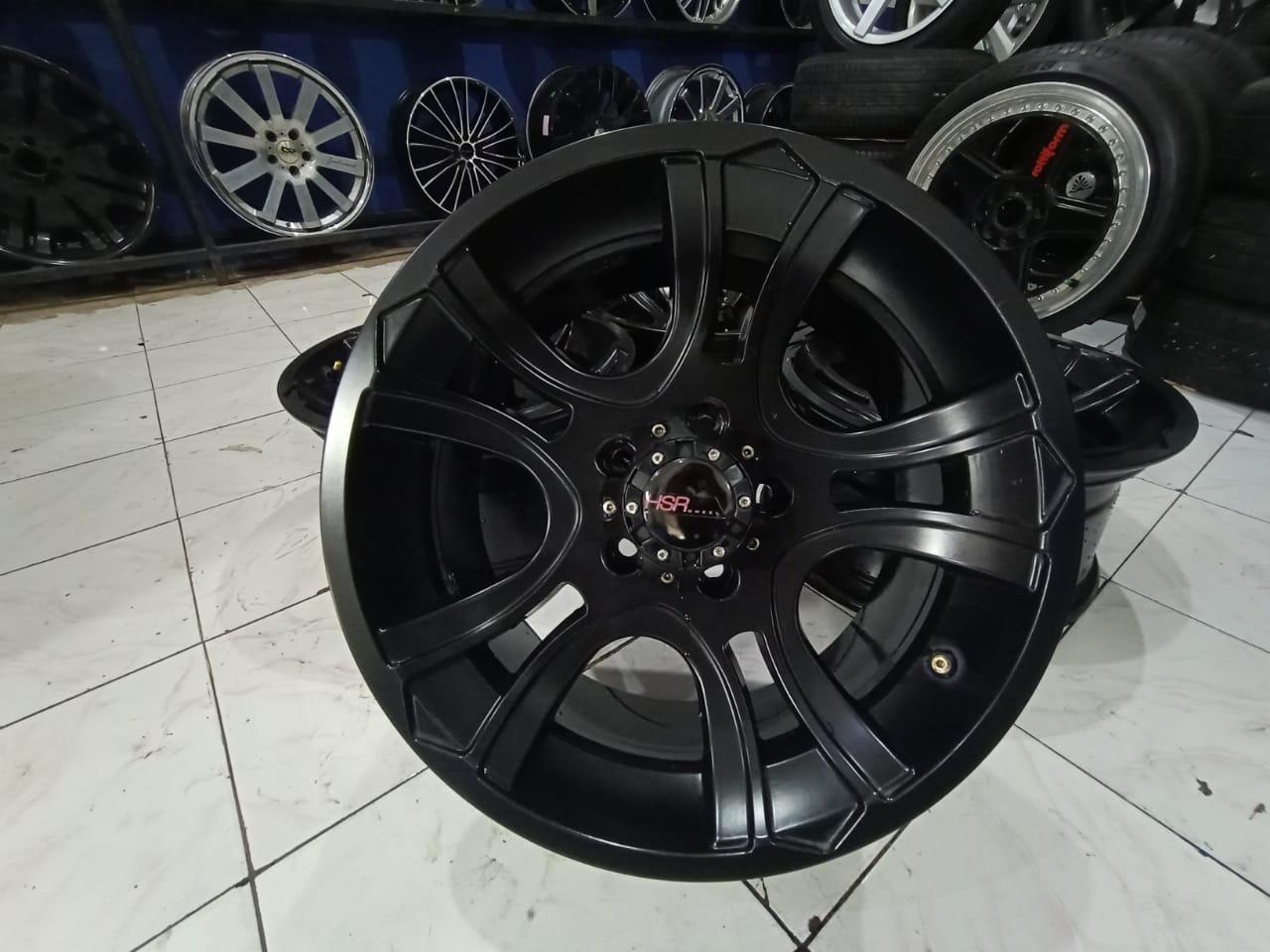 Velg Bekas Hsr Model Offroad PEAK HSR R16X8 5X114,3 ET0 BLACK