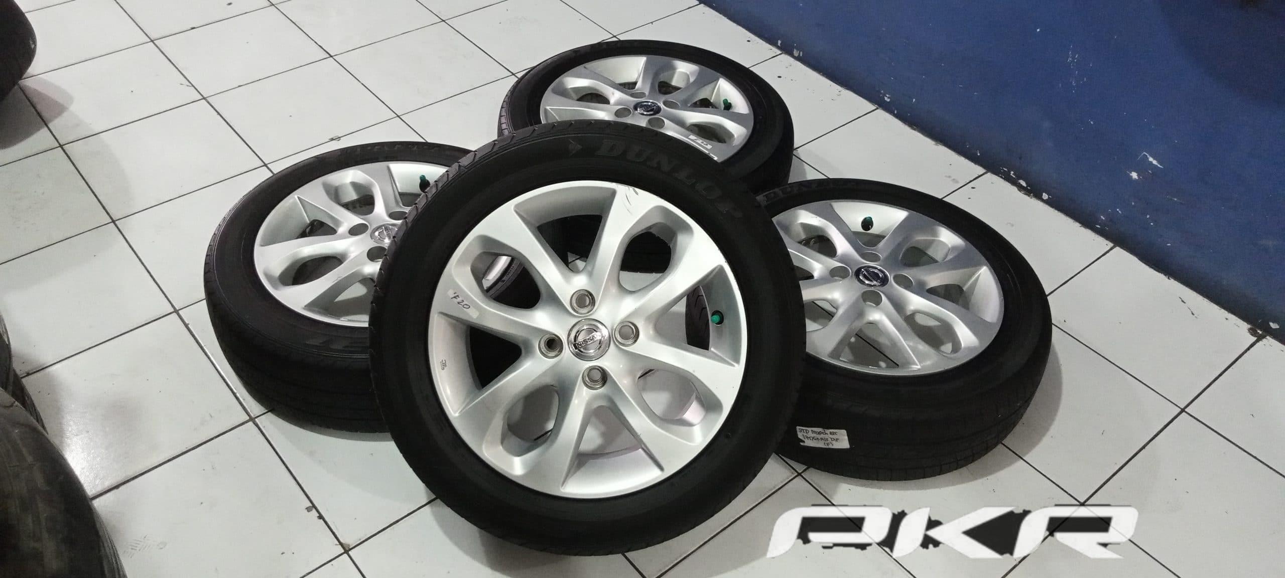 Velg Mobil OEM Nissan Match new R15 pcd 4×100 ban 175 60
