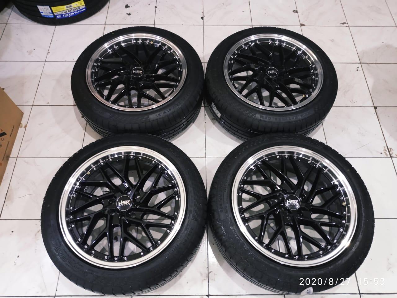 Velg Mobil Bekas Hsr Wheel Ring 17 Tipe Sepulu Plus Ban 205 50 R17