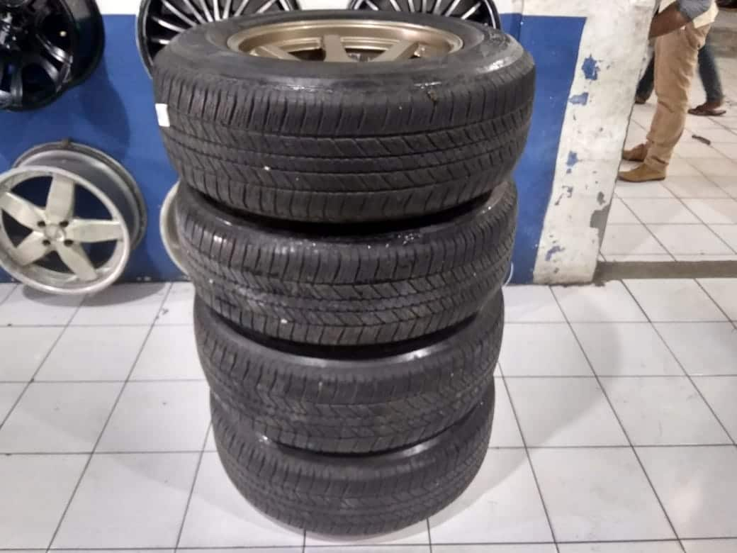 Velg mobil Pajero Fortuner R17 RRE Pcd 6×139,7 + Ban 265 65 Bridgestone