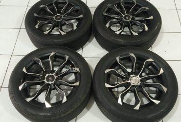 Velg mobil R15 Brio Ayla Datsun Picanto GIO R15 Ban BS 185 55
