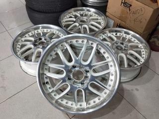 Velg bekas murah type veloce ring17x7 h8x100-114,3 et42 white polish