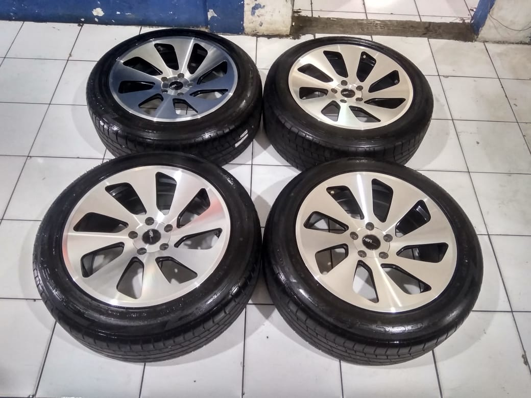 Velg Mobil Racing Second HSR R18 Pcd.5×114,3 + Ban 225 55 R18 Th.2019