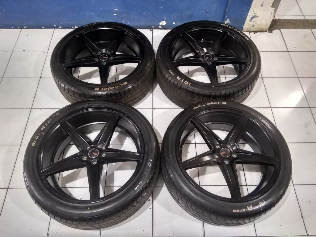 Velg Racing Second R22 Pcd.5×114,3 + Ban  Emission HSr