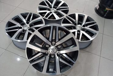 VELG ORIGINAL FORTUNER VRZ R18X8 PCD6X139,7 ET30 GREY POLISH