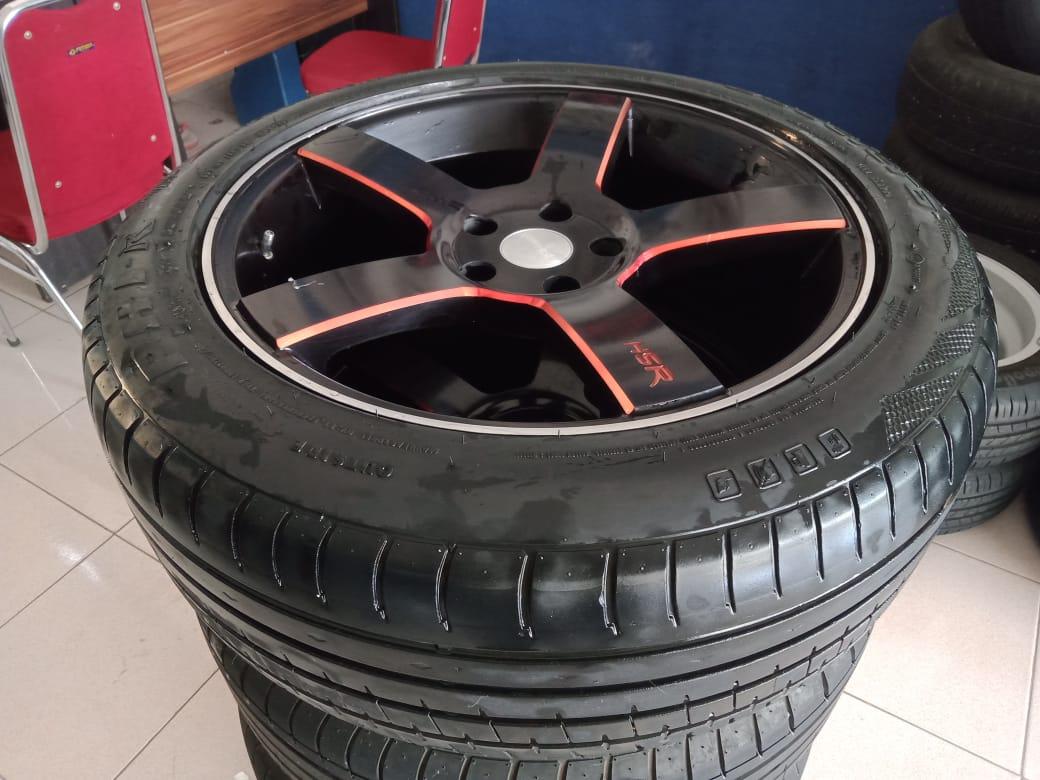 Velg second murah km690 ring18+ban phi 225/50-18