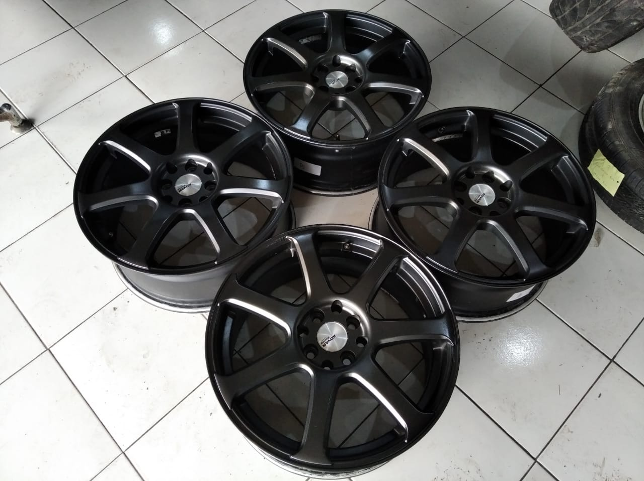 Velg Advan Racing ring 17