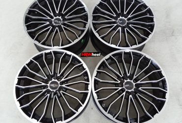 Velg Bekas HSR Type Nerich Ring 17×7,5 ET:40 H:8×100+114,3 Black Polish