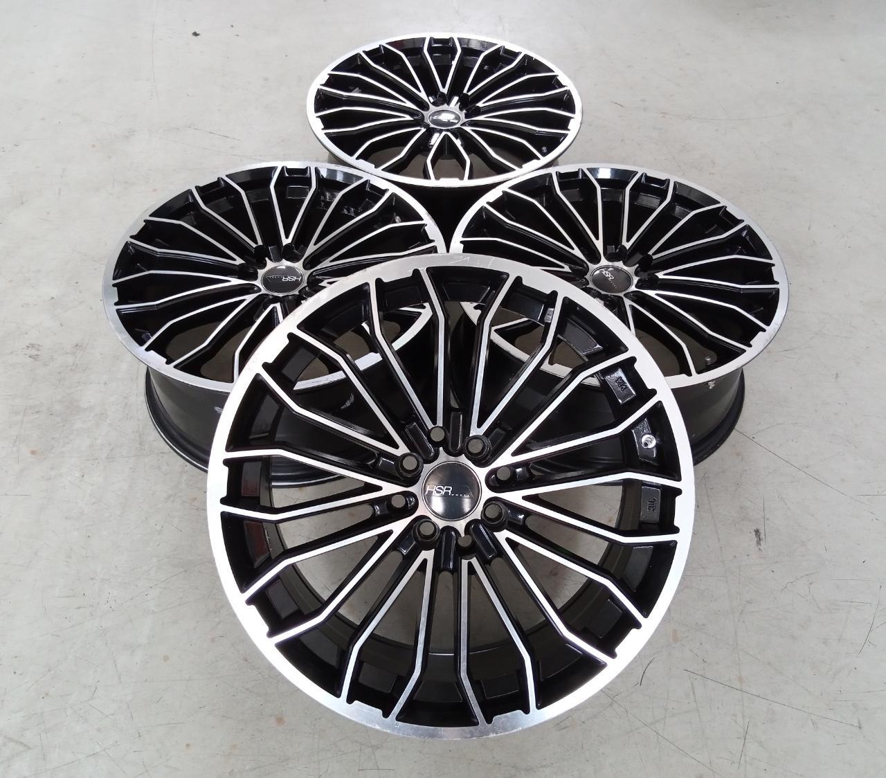Velg Bekas HSR Type Nerich Ring 17×7,5 ET:40 H:8×100+114,3 Black Polish