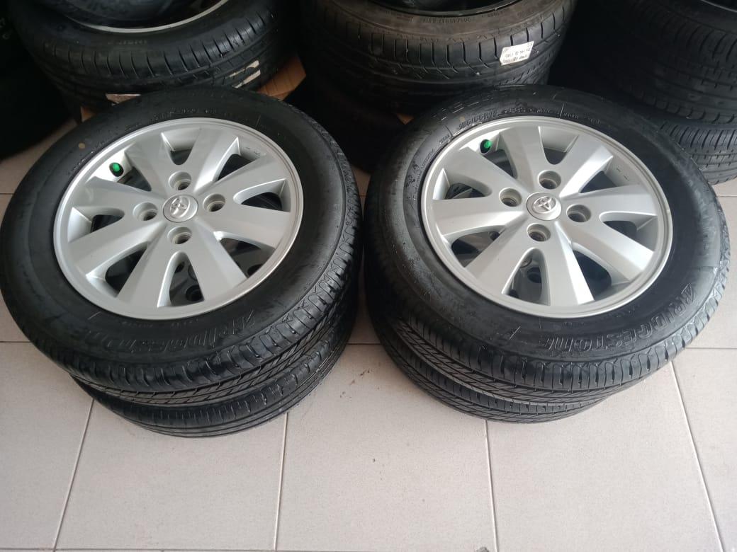 Velg copotan murah mobil avanza type s ring15+ban ukuran 185/65-15