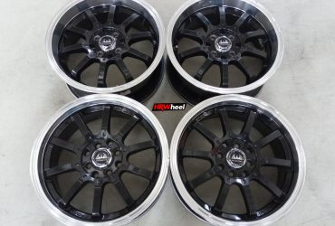 Velg Bekas TYPE VIP STATUS RING 16X7 ET:40 H:8X100+114,3 BLACK POLISH