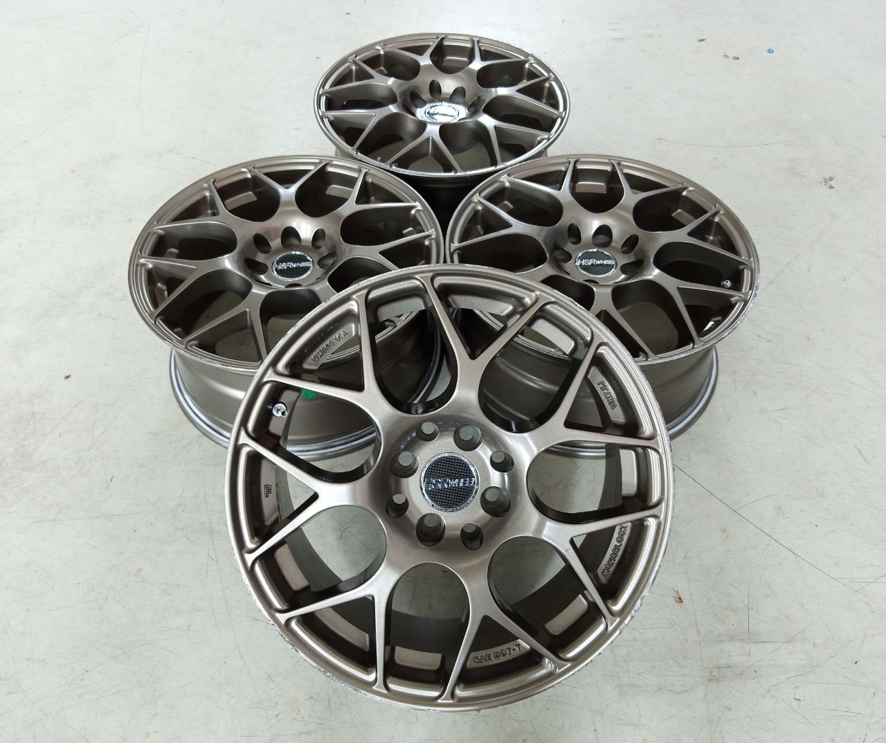 Velg Bekas Hsr Type Mandong Ring 16×7,5 ET:40 H:8×100+114,3 Bronze