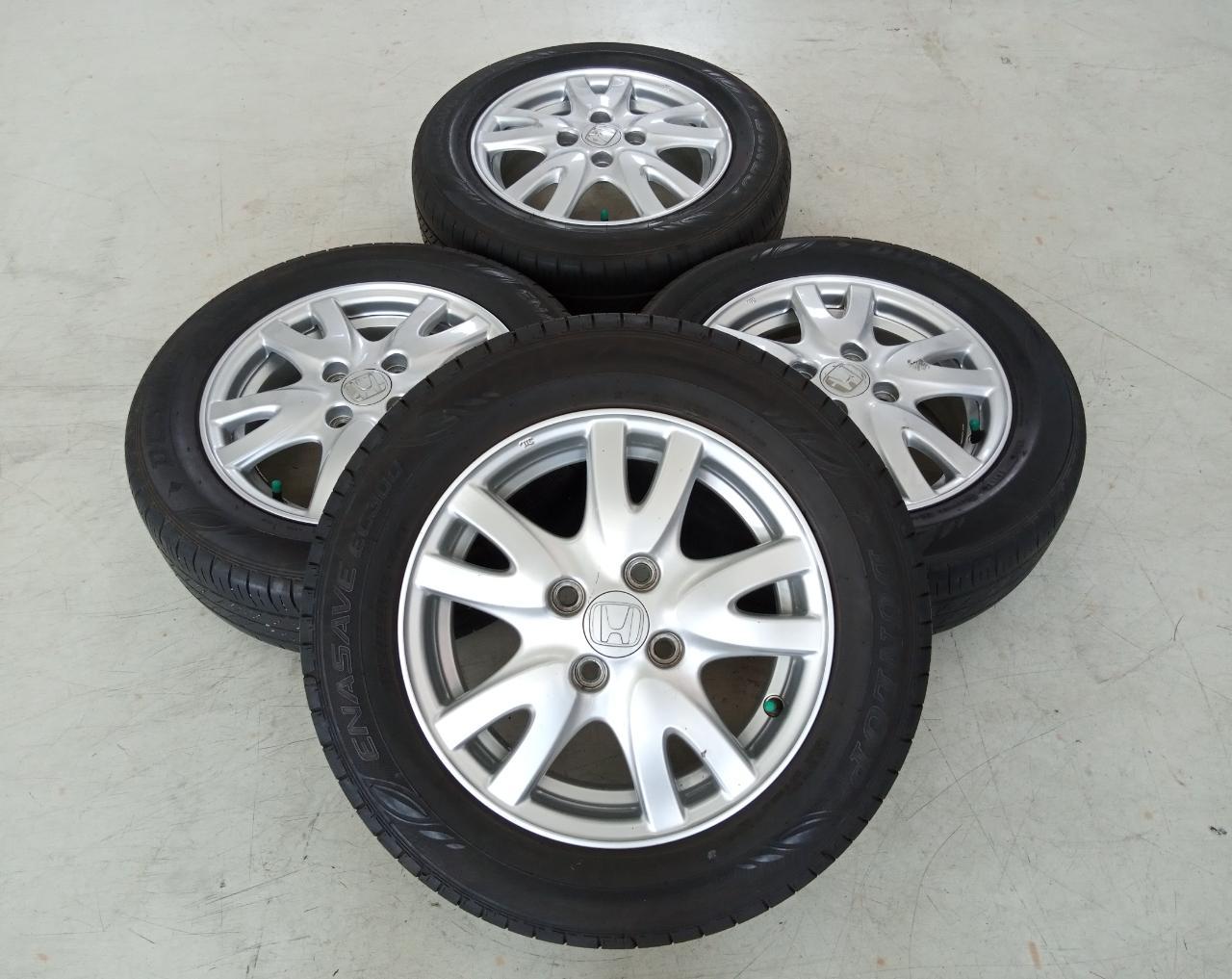 Velg Bekas Oem Honda Brio Ring 14 + Ban Dunlop 175/65/R14