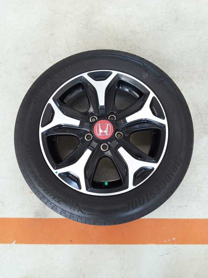 Velg Bekas Oem Honda BR-V Ring 16 + Ban Bridgestone 195/60/R16