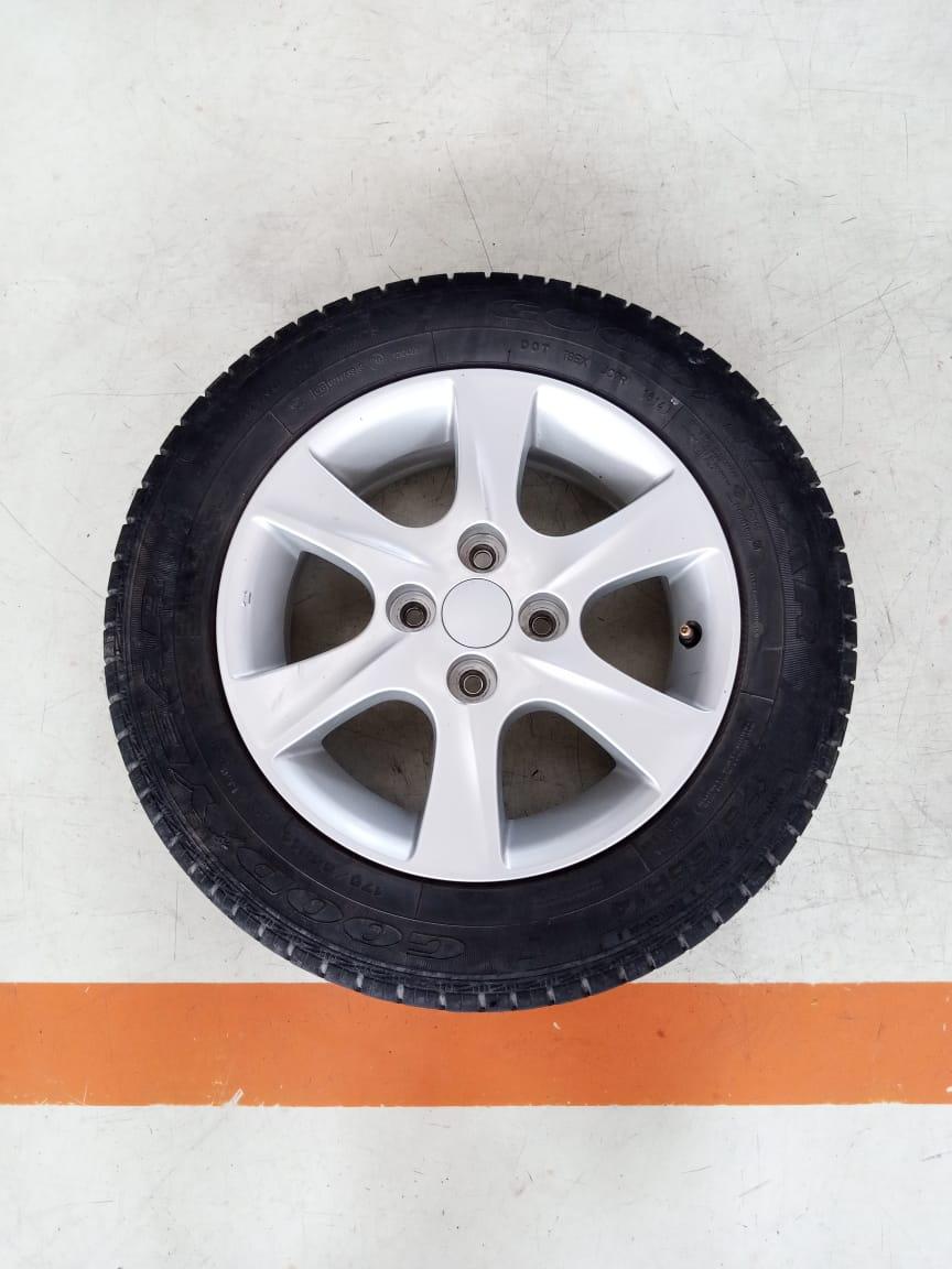 Velg Bekas Oem Daihatsu Sirion Ring 14 + Ban Bonus Ukuran 175/65/R14
