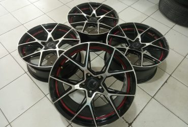 Jual velg racing ring 18 untuk camry accord civic inova hrv juke