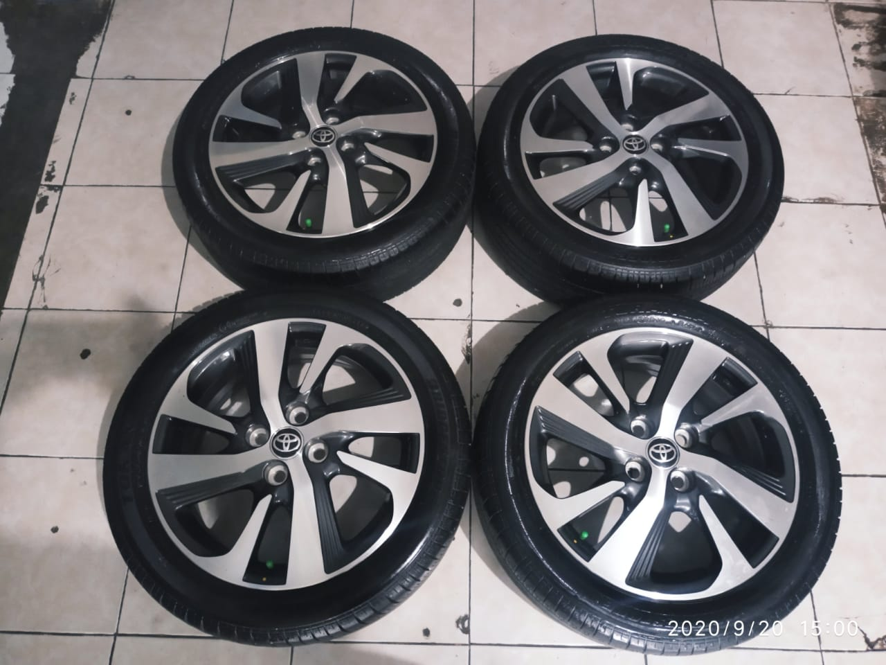 STD YARIS TRD RING 16 BAN BS 195 50 R16