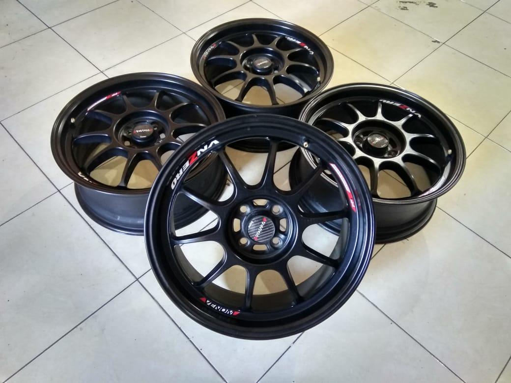 Velg Second Venom R17x7 Pcd 4×100 Et 40 Black