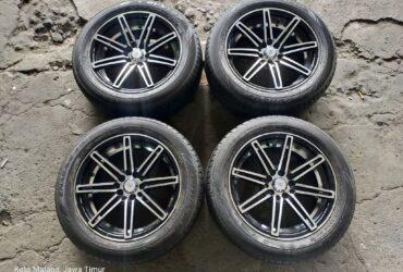 Tersedia Velg Vossen R16 Pcd 5×100/114 + Ban Dunlop 205/55 R16 2019
