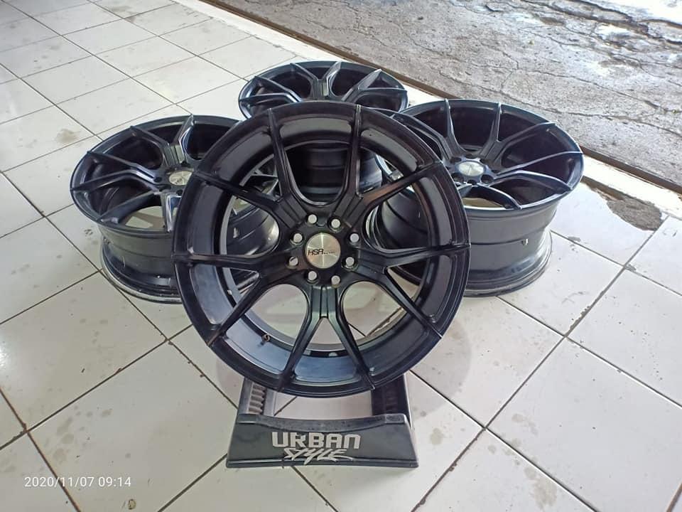 Tersedia Velg Second Hsr Voodo R17x7.5'/9 H4x100/114.3