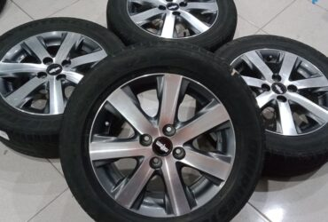 PELEK OEM FREED R15 + BAN 2PC UKURAN 185/65-15