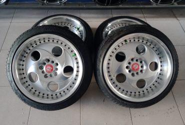 VELG RACING VMW R17 + BAN PHI UKURAN 205/45-17
