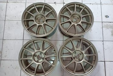 Velg Second Weds Sport R17x7.5/8.5 H4x100 Et42/38