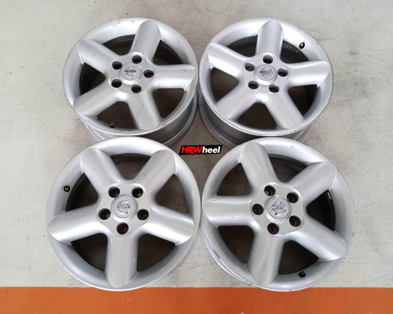 Velg Bekas Nissan X-Trail Ring 16×6,5 H:5×114,3 ET:40 Silver