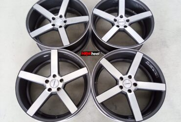 Velg Bekas Rep Vossen Cv3 Ring 20×8,5 ET:45 Pcd:5×114,3 Grey Polish