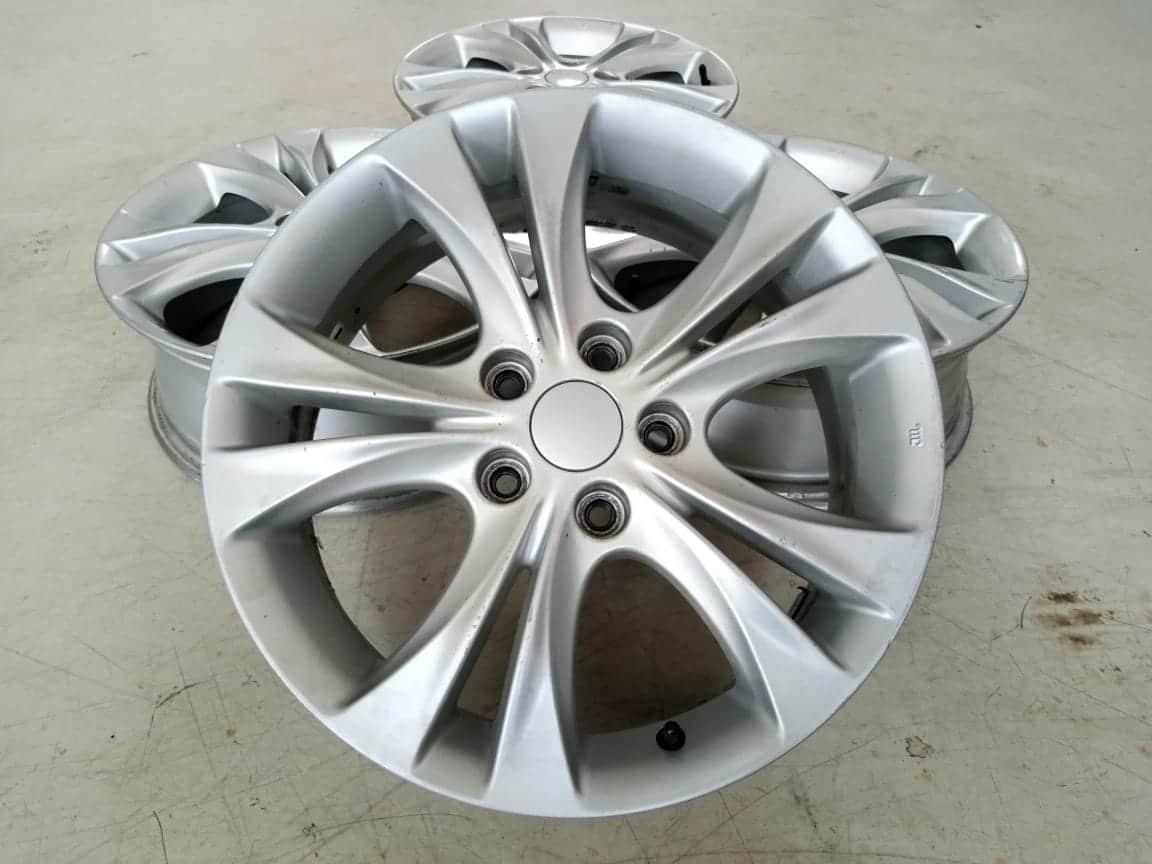 Velg Bekas Oem Hyundai Sonata Ring 17×6,5 ET:46 Pcd:5×114,3 Silver