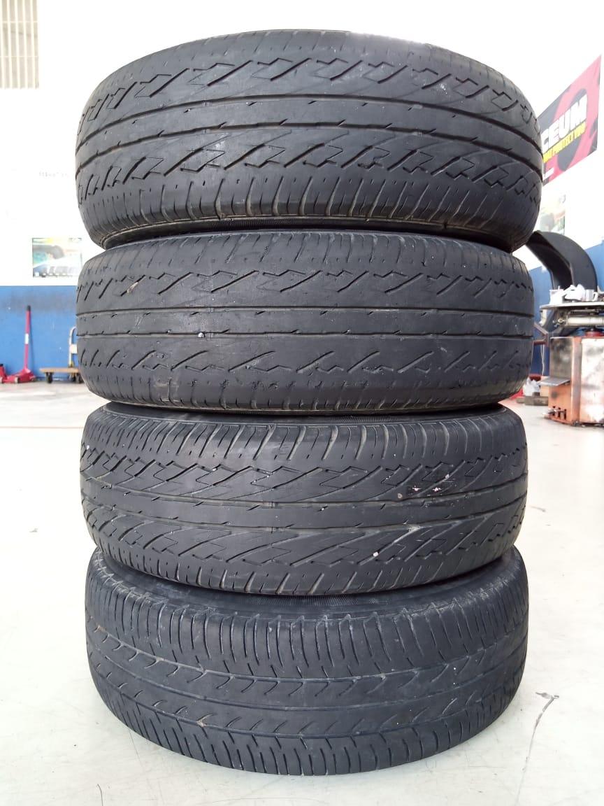 Velg Bekas Oem Nissan Livina Ring 15 + Ban Bonus Ukuran 185/65/R15