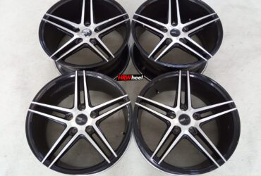 Velg Bekas HSR Type NE5 Ring 18×8+9 ET:40 Pcd:5×114,3 Black Polish