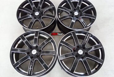 Velg Bekas Model FABULOUS Ring 20×8,5 ET:18 Pcd:6×139,7 Black Polish