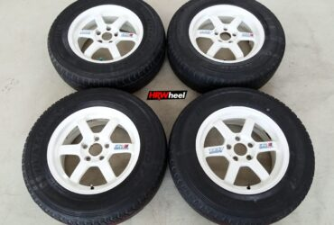 Rep Volk Rays TE37 Ring 16 Pcd:5×114,3 + Ban Dunlop AT 225/70/R16