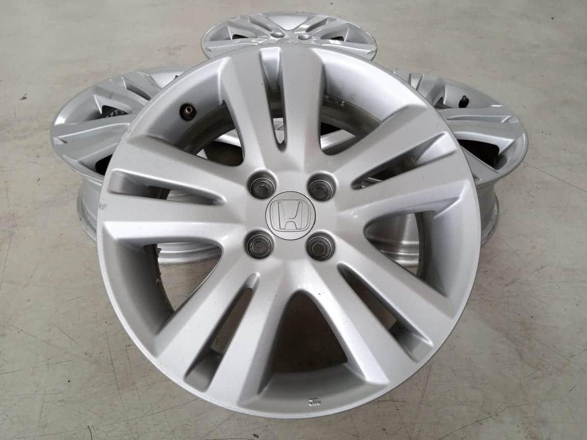 Velg Bekas Oem Honda Jazz RS Ring 16×6 ET:53 Pcd:4×100 Silver