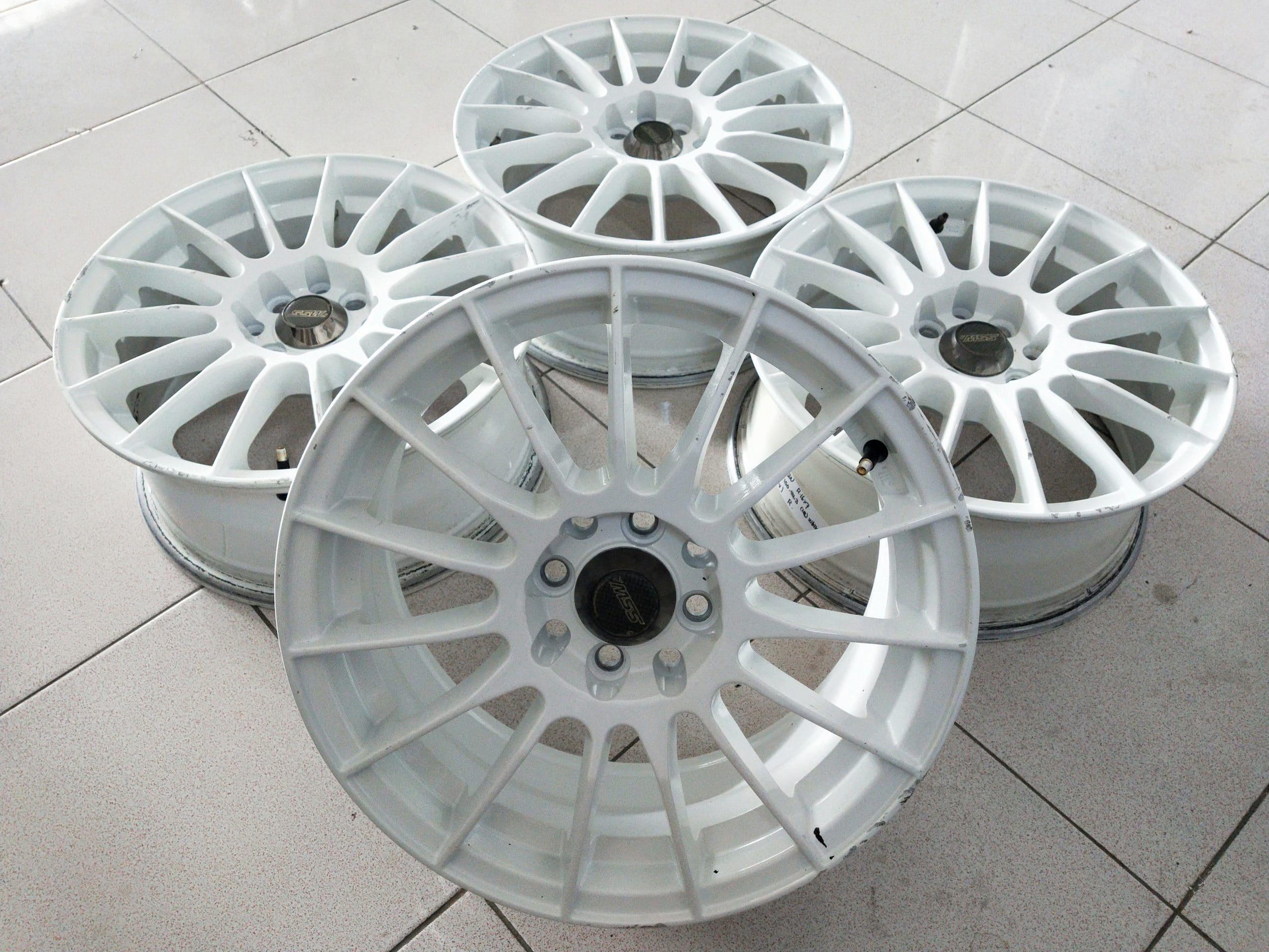VELG SECOND TYPE RACE RING16X7 PCD8X100-114,3 ET45 WHITE