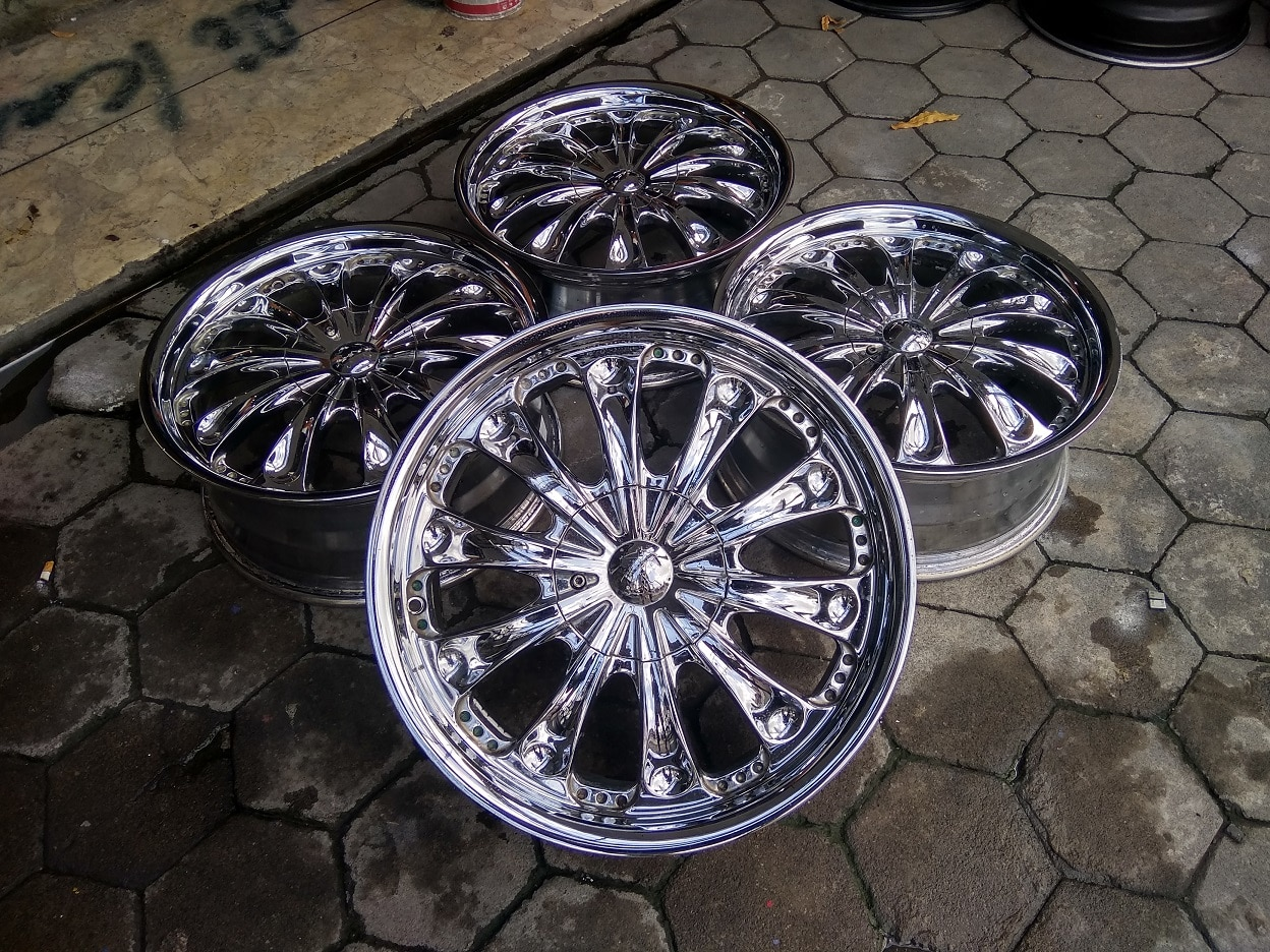 Velg Only Chrome R18x7,5 ET40 pcd 5×100, 5×114 (4pcs)