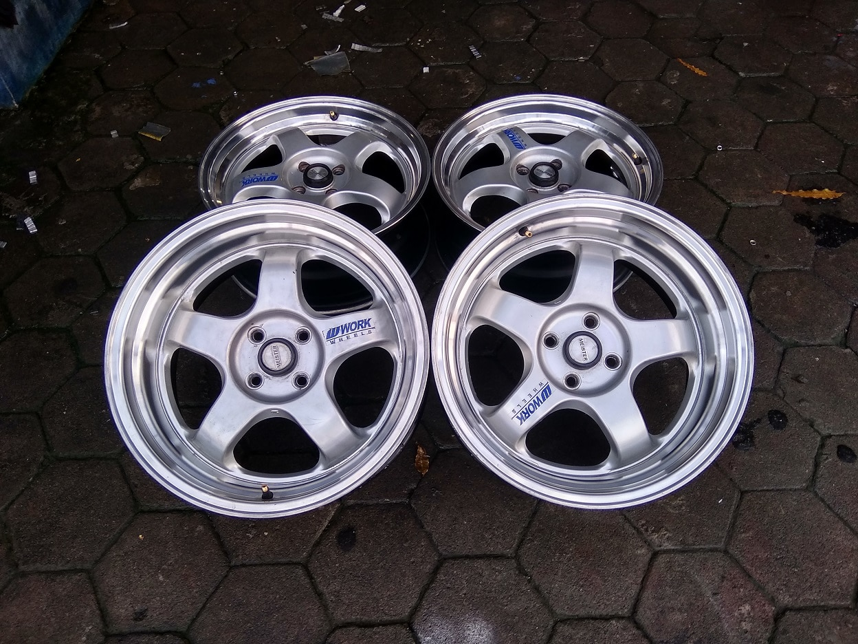 Velg Only Work Meister R17x7/8,5 ET40/35 pcd 4×100 (4pcs)