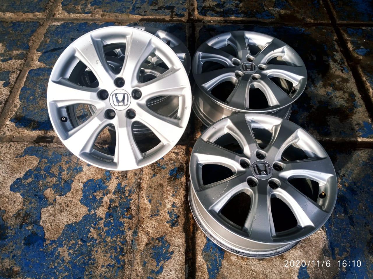ready velg original cr-v ring 17 pcd 5×114 et50