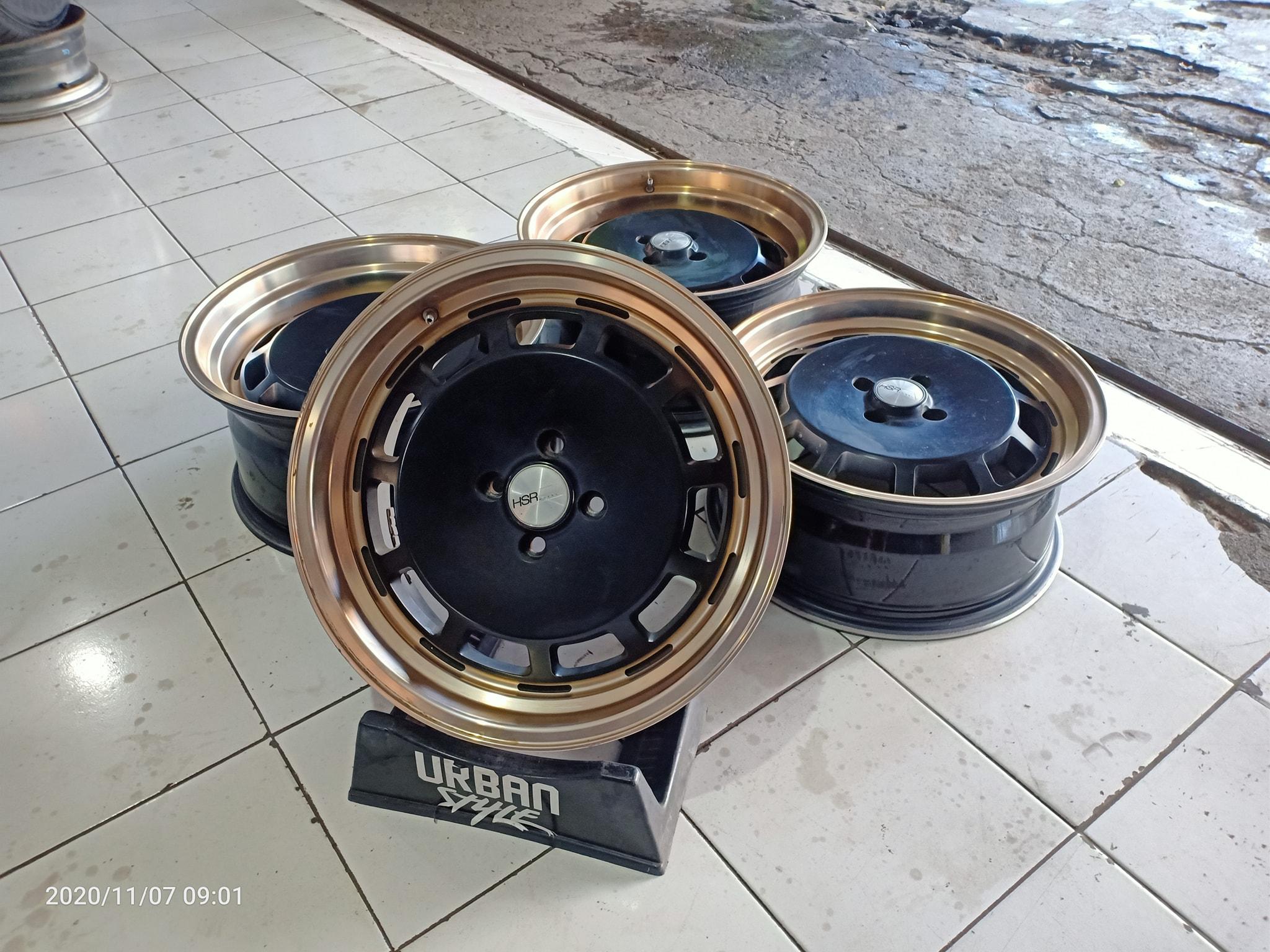 Jual Velg Seken Racing Nemesis R17x7.5/8.5 Hole 4×100 Et42/38