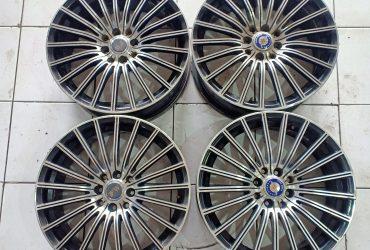 SALE Velg Seken MILANO FW R17X7.5 H4X100/114 ET42