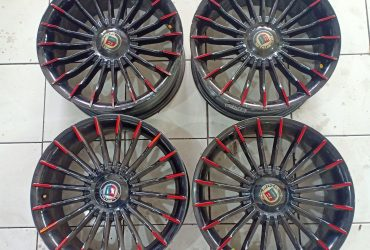 SALE/TT VELG Racing Second ALPINA R17x7,5 H4x100/114,3 ET 38