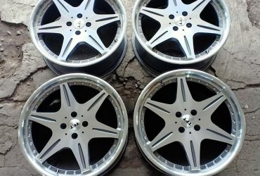 TFT WHEEL R18x7,5 PCD 4×100 ET 42 GREY POLISH