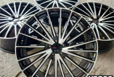 HSR LANGGUR RING 22X9 PCD 5X114 ET 35 (HARRIER,HRV,CRV,CAPTIVA) SALE