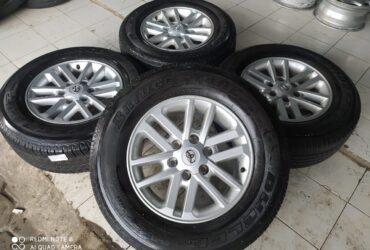 Velg second Fortuner ring 17+ban