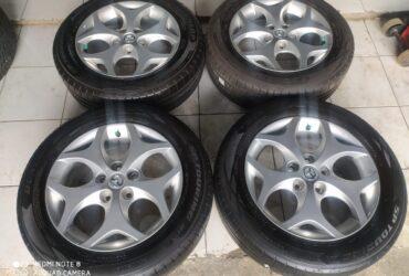 Velg second Mazda Biante ring 16+ban